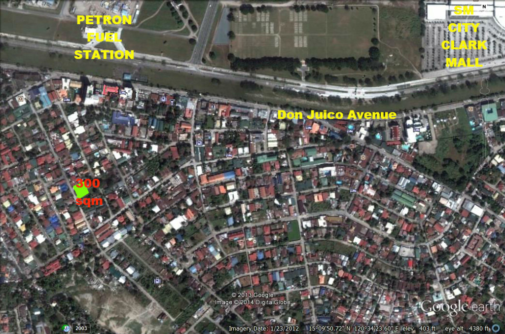 Angeles / Clark Philippines  City pictures : COMMERCIAL LOT FOR SALE ANGELES CITY CLARKVIEW | Angeles Real Estate