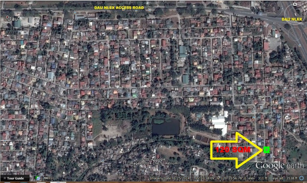 Lot for sale near Dau NLEX Ref:Ad# 0000560