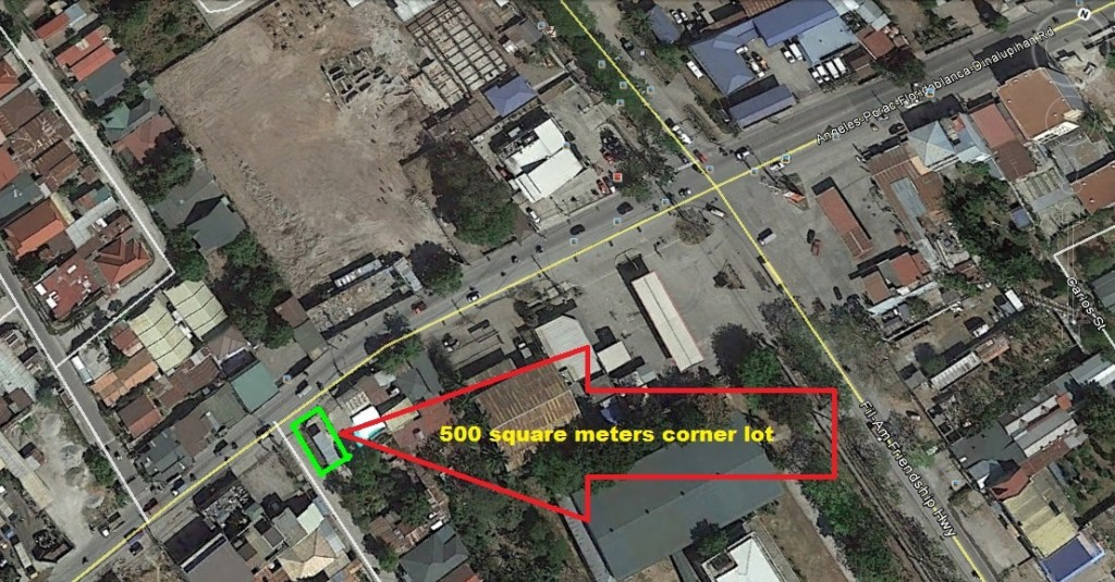 ON HOLD! Commercial Lot for Sale Angeles – Porac Boundary Ref# 0000578