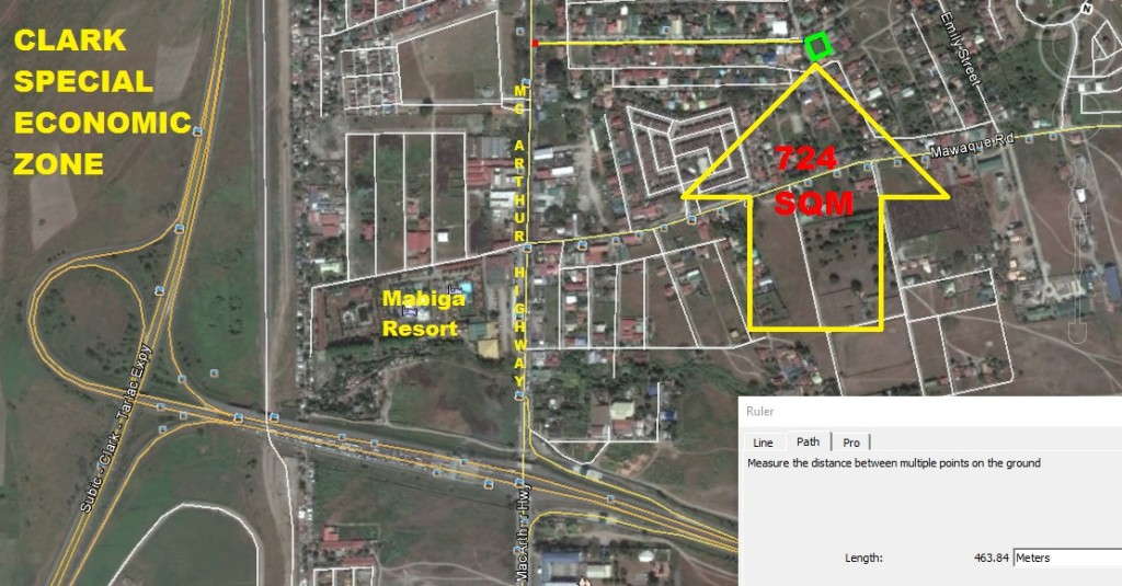 Corner Lot for Sale Mabalacat near Clark and McArthur! Ref#: 0000756