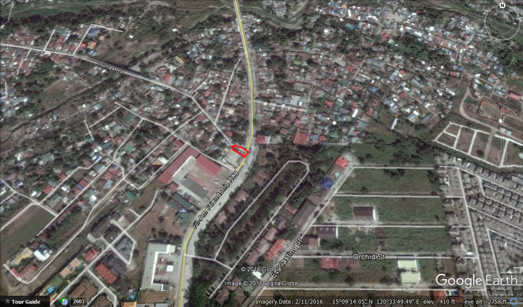 SOLD! Commercial Lot Angeles City Friendship Hiway Ref# 0000798