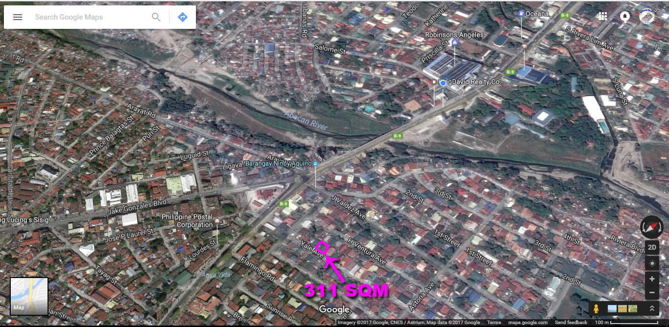 Lot for Sale Angeles City Marisol Ref# 0000836