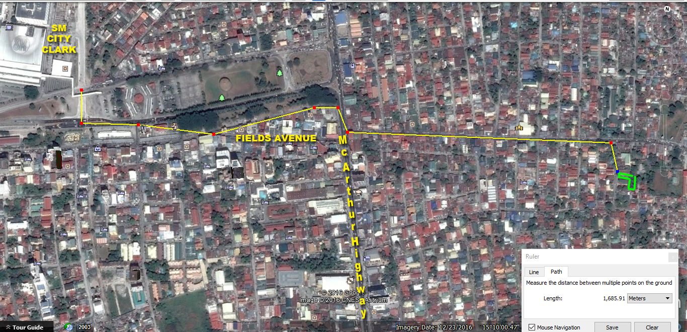 2994 SQM Lot for Sale Angeles City Balibago Ref# 0000845