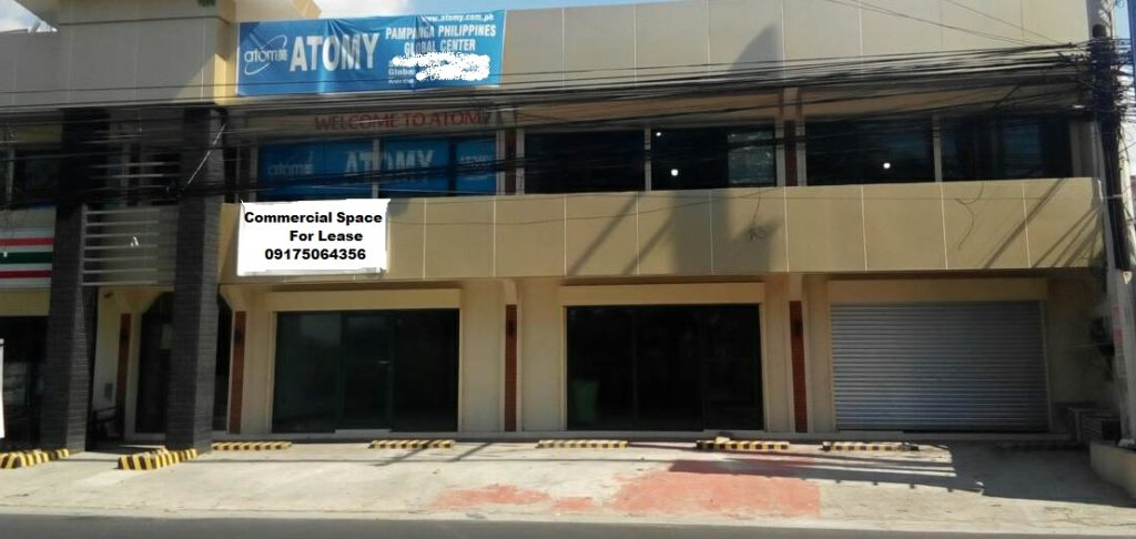 RESERVED! Commercial Space Angeles City near Clark #0000850