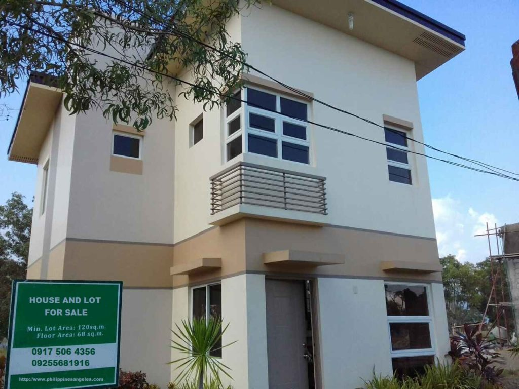 House for Sale Angeles City Metrogate Installment #0000853