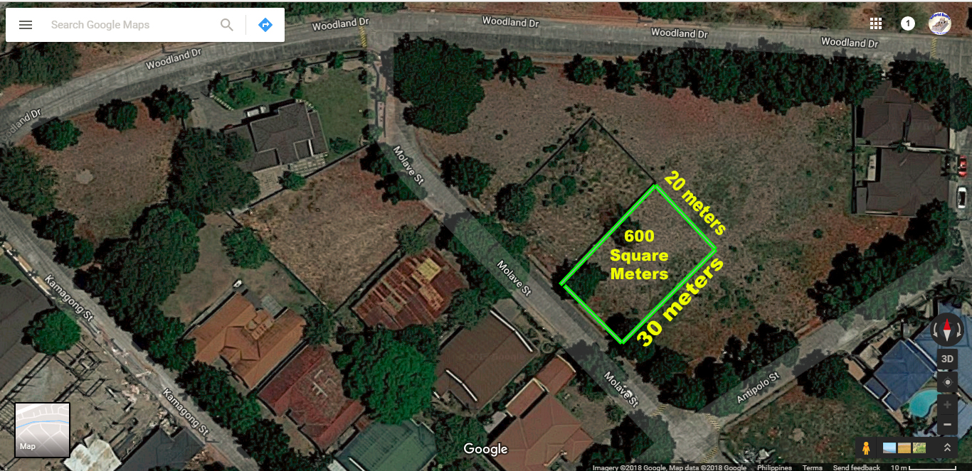 RUSH SALE!!! 600 SQM Lot for Sale Angeles City Woodland Carmenville #0000888